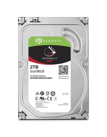 "SEAGATE 3.5"" IronWolf 2To 5900T-NAS ST2000VN004"