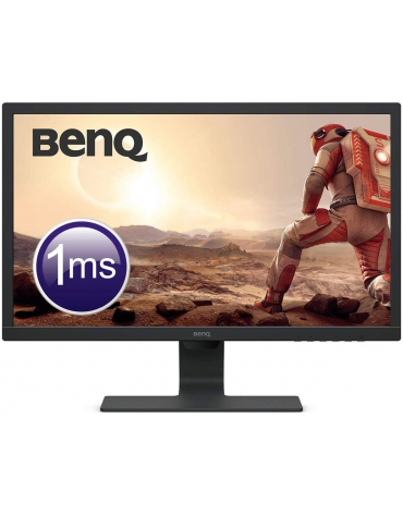 "BENQ 24"" Wide LED Noir 1ms HDMI/VGA/D-SUB"